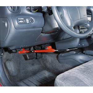 The Club Brake Lock Vehicle Anti-theft Steering Wheel Lock
