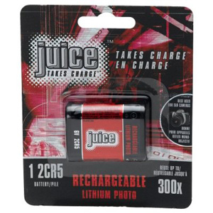 2CR5 Rechargeable Lithium Ion Battery