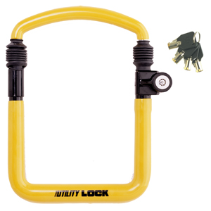 The Club Motorcycle Anti-Theft Utility Lock
