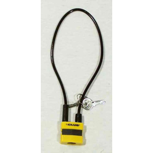 The Club Gun Cable Security Lock (Single)