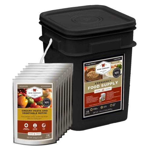 60 Serving Entree Bucket (Black Bucket)