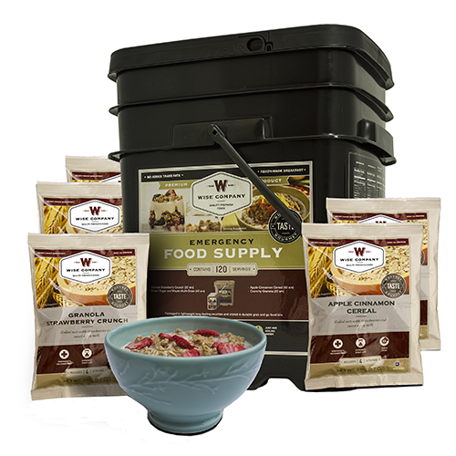 Breakfast Only Grab&Go Bucket 120 Serving