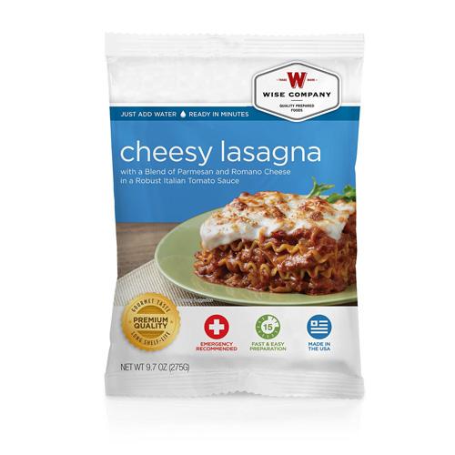 Cheesy Lasagna (4 srv)