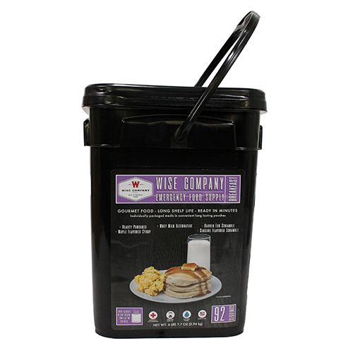 92 Serving Breakfast Bucket