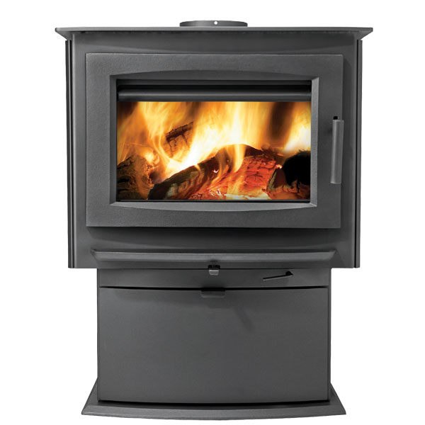 S4 Napoleon Medium Wood Burning Pedestal Stove
