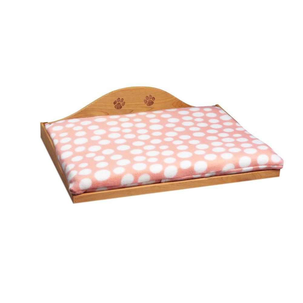 Cedar Pet Bed - Pink
