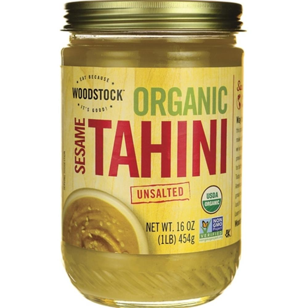 Woodstock Farms - Organic Unsalted Sesame Tahini ( 3 - 16 OZ)