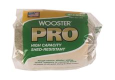 WOOSTER� PRO HIGH CAPACITY, SHED-RESISTANT KNIT ROLLER COVER , 4 IN. X 3/4 IN. NAP