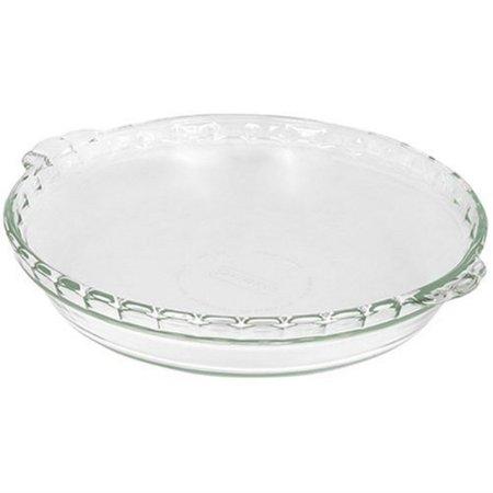 "Pyrex� 6001009 9.5"" Glass Pie Plate"