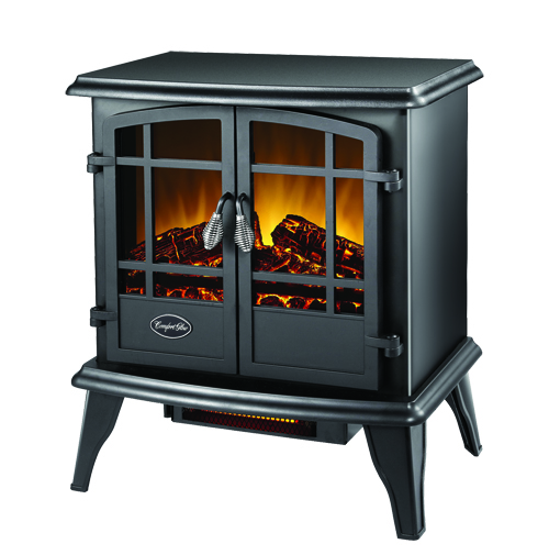 CG Kyston QuartzElecStove Blk