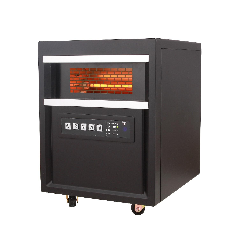RC Infrared Quartz Heater Black