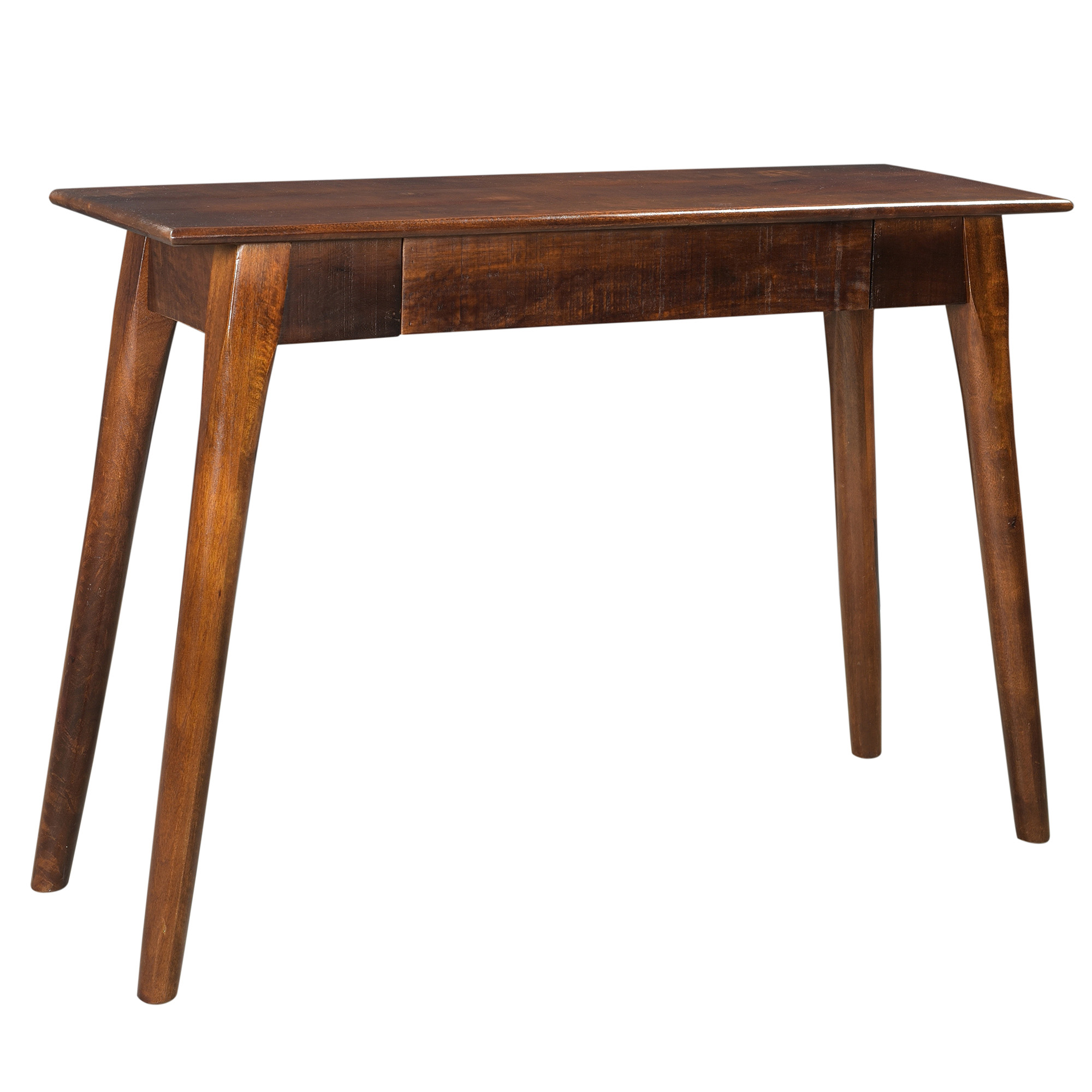 Rustic Modern Solid Wood Console/Desk in Walnut