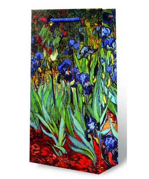 2-Bottle Van Gogh Irises