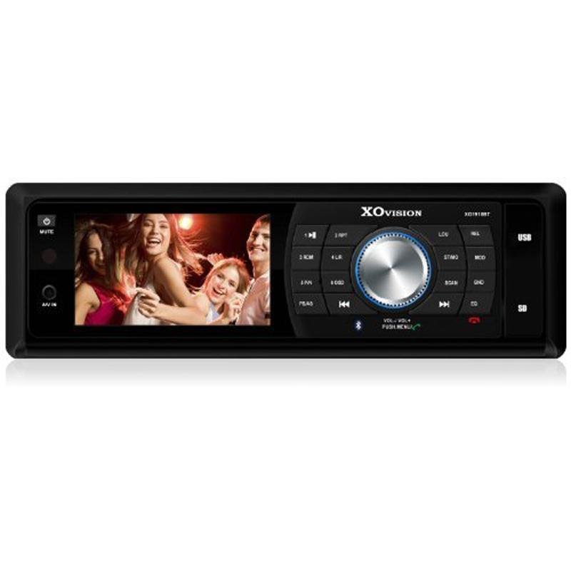 XO Vision 3-Inch Detachable DVD Reciever with Bluetooth