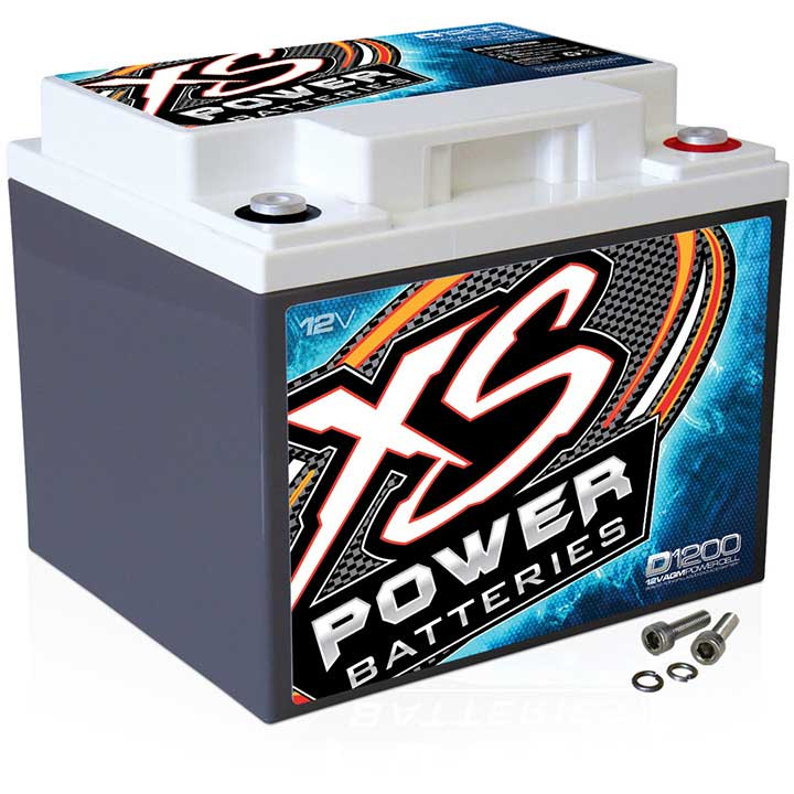 XS POWER 1500/3000W 12V AGM BATTERY 44AH