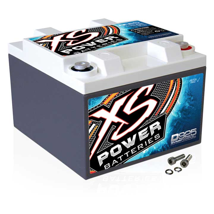 XS POWER 1000/2000W 12V AGM BATTERY 2000A MAX AMPS
