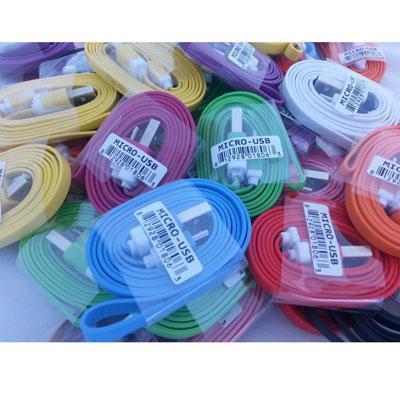 Micro USB multicolor Bin 50pk