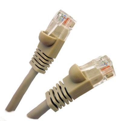 10' Cat5E Cable Gray