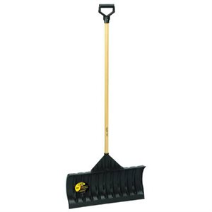 24-INCH POLY SNOW PUSHER