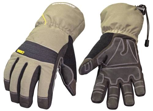 YOUNGSTOWN� WATERPROOF WINTER XT INSULATED GLOVES WITH EXTENDED GAUNTLET CUFFS, LARGE