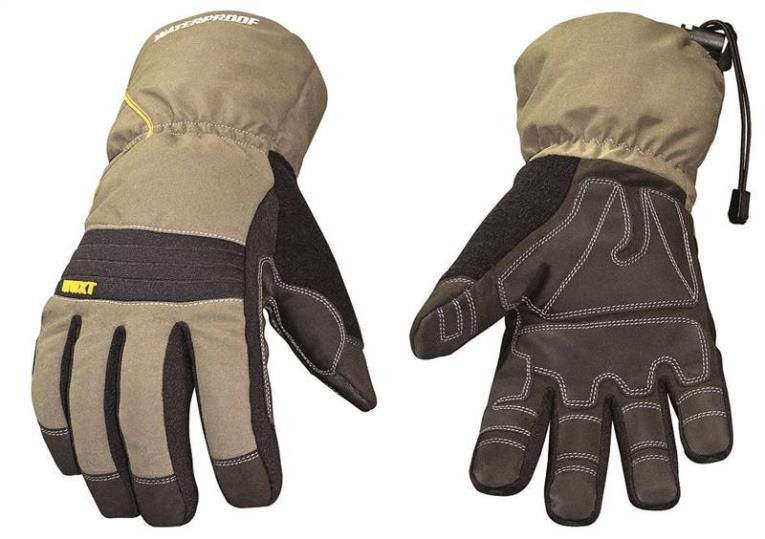 Youngstown Winter XT 11-3460-60 Breathable Extra Tough Protective Gloves, Large, Gray/Green