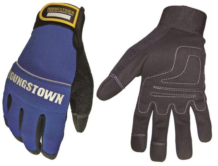Youngstown Mechanics Plus 06-3020-60-L Ultimate Dexterity Work Gloves, Large