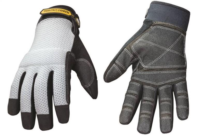 GLOVE MESH TOP REINFORCED LRG
