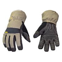 Youngstown Winter XT 11-3460-60 Breathable Extra Tough Protective Gloves, X-Large, Gray/Green