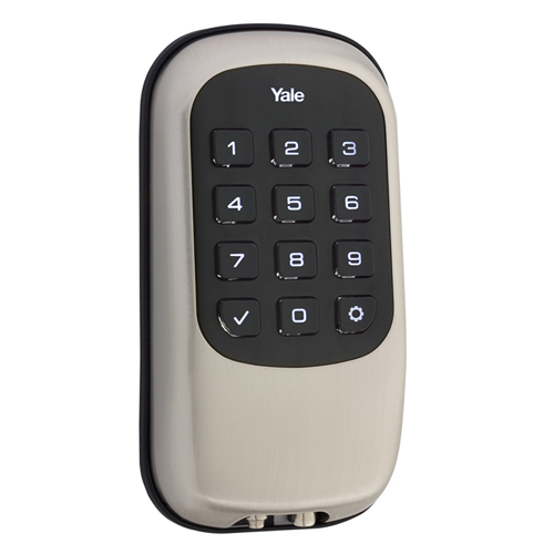 Yale Z-Wave Key Free Push Lock Nickel