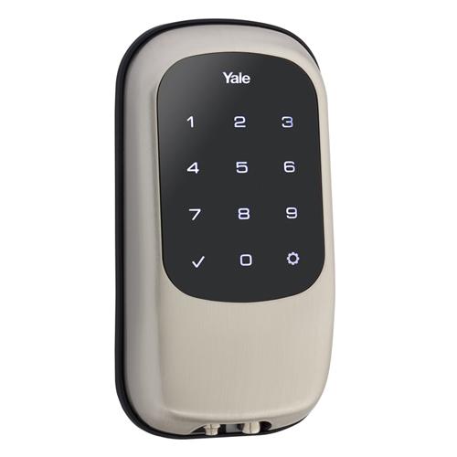 Yale Z-Wave Key Free Touch Lock Nickel
