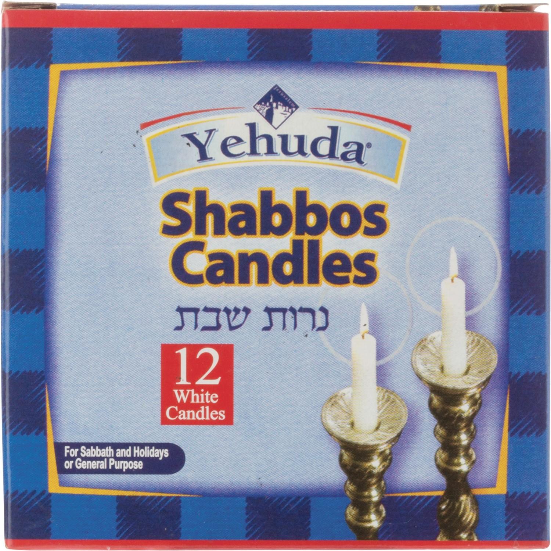 Yehuda Sabbath Candles (24x12EA )
