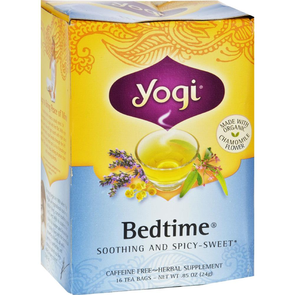Yogi - Bedtime Herbal Caffeine Free Chamomile Tea ( 6 - 16 BAG)