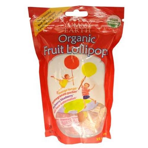 Yummy Earth Fruit Pop Pc Lollipop (6x3 Oz)