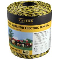 WIRE FENCE POLY 1/4M 1320FT