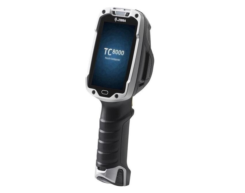 "Zebra TC8000 BarCode Scanner 2D Wi-Fi 4"" WVGA 1GB/4GB Android Kitkat Mobile Computer TC80N0-1000K210NA"