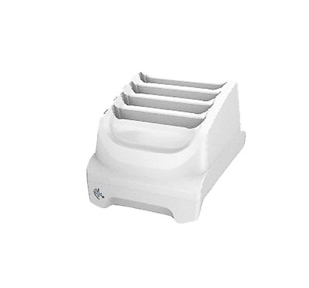 Zebra TC51 Healthcare 4-Slot Battery Charger White SAC-TC51-HC4SC1-01