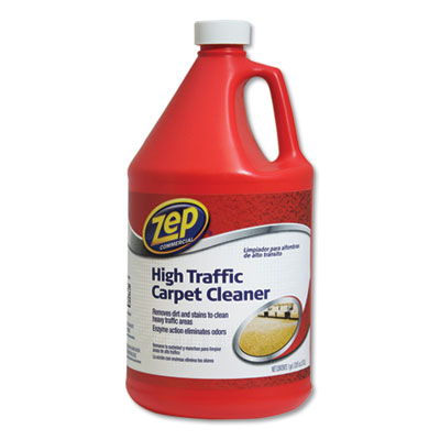 High Traffic Carpet Cleaner, 1 gal, 4/Carton