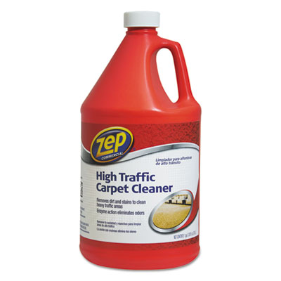 High Traffic Carpet Cleaner, 128 oz Bottle