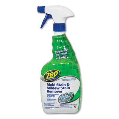 Mold Stain and Mildew Stain Remover, 32 oz Spray Bottle, 12/Carton