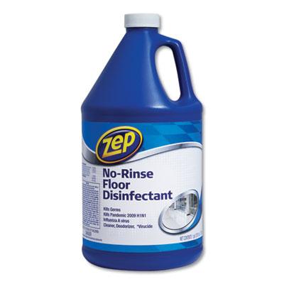 No-Rinse Floor Disinfectant, Pleasant Scent, 1 gal, 4/Carton