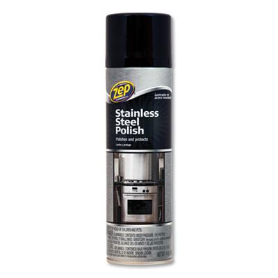 Stainless Steel Polish, 14 oz Aerosol, 4/Carton