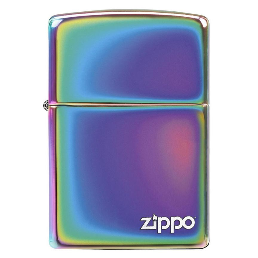 Zippo Windproof Lighter Spectrum Finish w/Zippo Logo