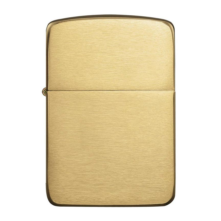 Zippo Windproof Lighter 1941 Replica Brushed Brass