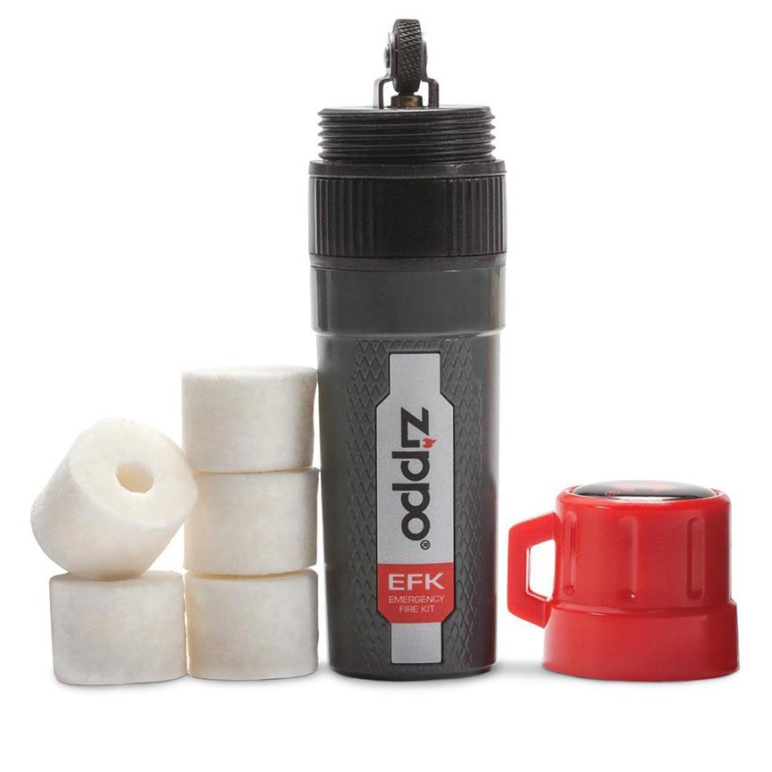 Zippo Emergency Fire Kit (Includes: Flint-wheel and 5 Easy Spark Tinders)