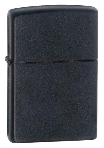 Zippo Lighter (Unfilled), Matte Black