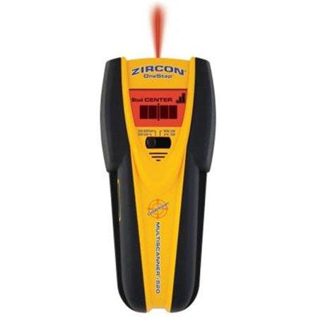 Zircon MultiScanner i520 Onestep 4 Mode Multi-Function Stud Finder, Ultra Bright