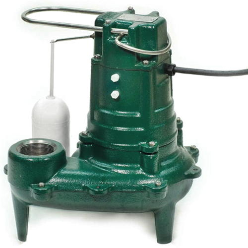 115 Volts 1/2 HP Cast Iron AUTO Sewage PUMP
