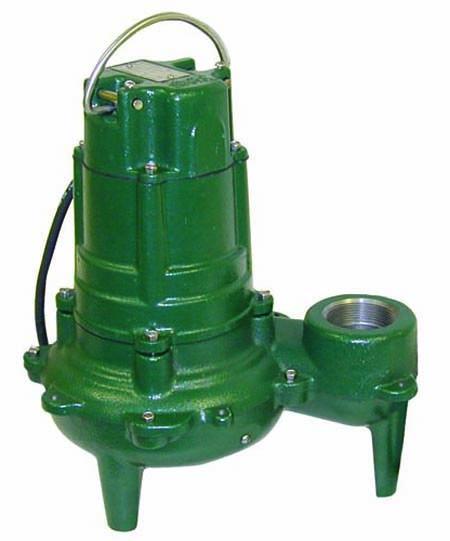 1HP 115 Volts 1PH Cast Iron Submersible / Effluent Sewage Pump