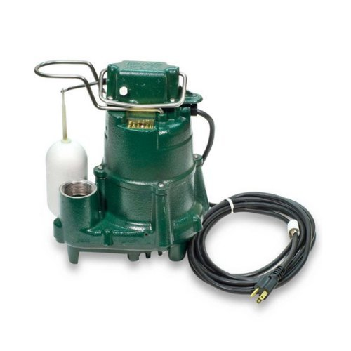 115 Volts 1/2 HP AUTO Effluent Submersible SUMP PUMP