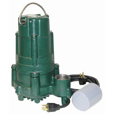 115 Volts 1HP Effluent Pump With Variable Level Float Switch